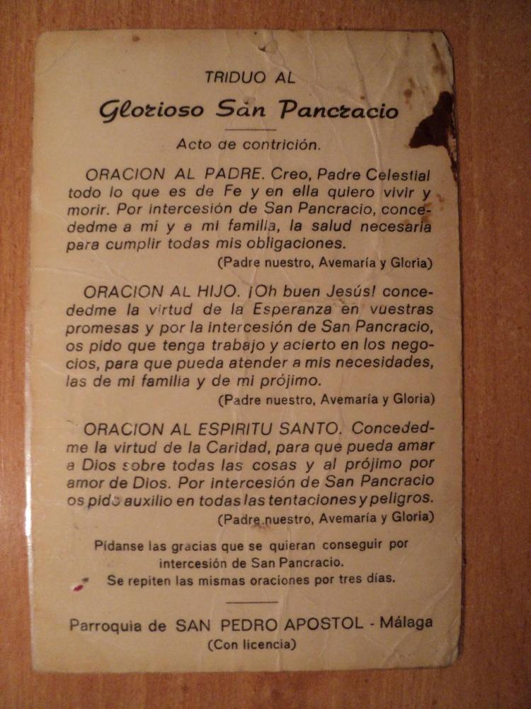 El regreso de San Pancracio (2/4)