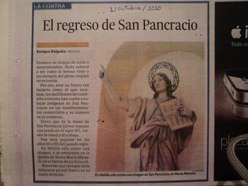 El regreso de San Pancracio (3/4)