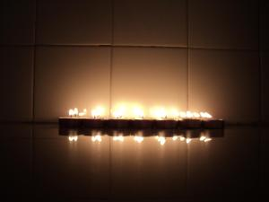 luz y efectos de las velas