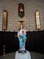 Coro, iglesia Arciprestal de Melilla