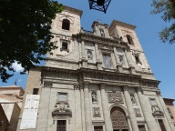 Iglesia san Ildefonso en Toledo