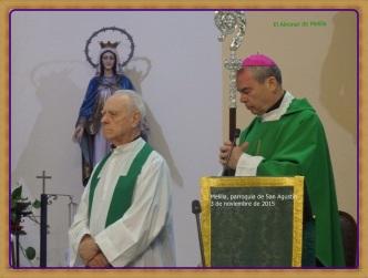 Dos obispos en San Agustín del Real