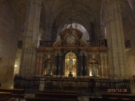 Catedral de Almería, altar del trascoro