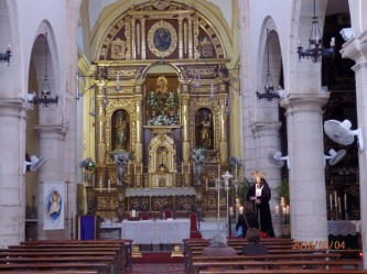 Iglesia patronal de Melilla