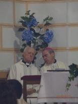 Obispos titular y emérito de Málaga