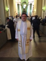 Vicario Roberto Rojo en el Vaticano