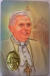 Benedicto XVI, estampa