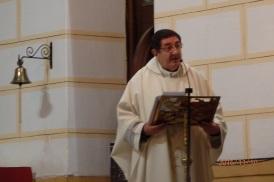 El Vicario Roberto Rojo en la homilía