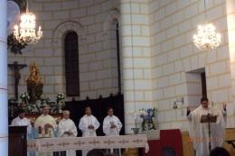 Vicario Episcopal y clero de Melilla