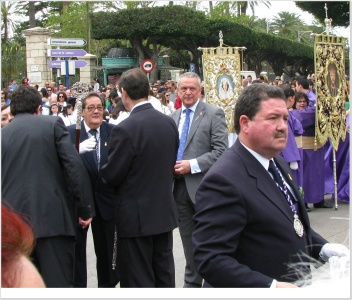 Francisco Javier Calderón, Hermano Mayor de La Soledad