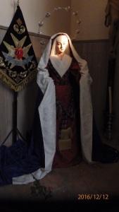 Virgen de La Soledad, sin manos