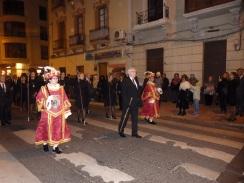 Atoridades en procesión