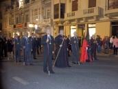 Padre Francisco Sierra y autoridades cofrades