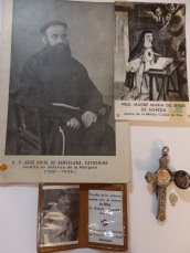 Reliquia José Oriol y Mª Jesús de Ágreda