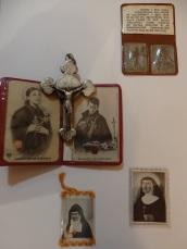 Reliquia de Santa Gema y Sta. Mª Micaela
