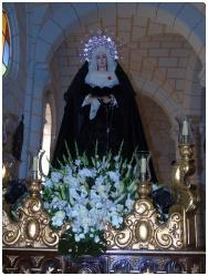 La Soledad, en su parroquia