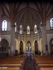 San Pablo, nave central y altar