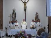 Oficio litúrgico en San Agustín