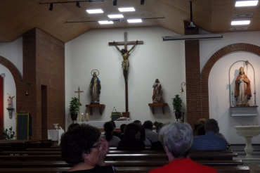 Altar mayor de San Agustín