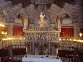 Barcelona, cripta de Santa Eulalia