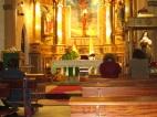 Monseñor Buxarrais en capilla Castrense