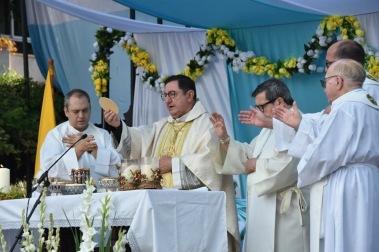 Roberto Rojo, festividad del Rosario. Fuengirola