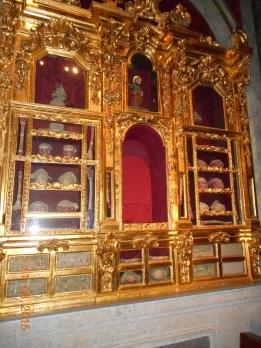 Toledo, San ildefonso. Capilla de Reliquias