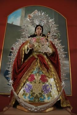 Reina de los Ángeles, patrona barriada Bazán