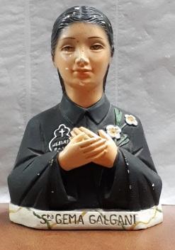 Figurilla de santa Gema