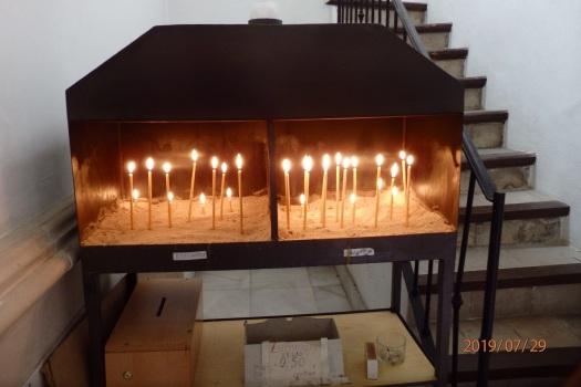 Urna de velas votivas