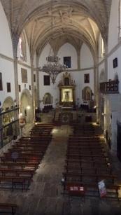 Iglesia de san Martín, interior de la nave