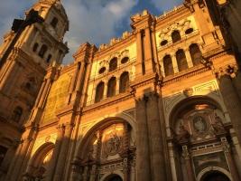 Torre y catedral de Málaga