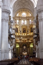 Altar mayor, catedral de Granada
