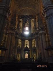 Altar mayor, gatedral de Málaga