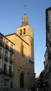 Segovia, iglesia de san Miguel