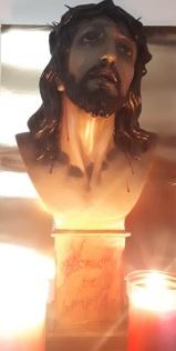 Busto original recuperado