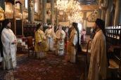 Liturgia de Pentecostés, en San Jorge de Fanar