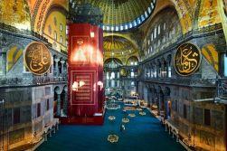 Santa Sofia como mezquita